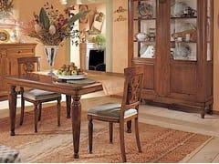 - Tavolo allungabile in legno massello SALIERI | Tavolo quadrato - Arvestyle