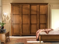 - Solid wood wardrobe with sliding doors SALIERI | Wardrobe with sliding doors - Arvestyle