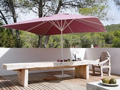 - Rectangular acrylic fabric Garden umbrella SAMARA | Rectangular Garden umbrella - Michael Caravita