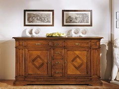 - Solid wood sideboard with drawers SAN MARCO | Sideboard - Arvestyle