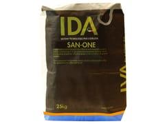 Malta per intonaco di fondo monocomponenteSAN ONE - IDA