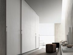 - Lacquered wooden wardrobe SAND | Lacquered wardrobe - Poliform