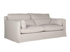 - Upholstered 2 seater fabric sofa SARA | 2 seater sofa - SITS