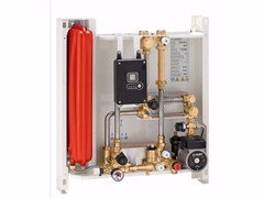 - Wall-mounted indirect heat interface unit SATK30103 - CALEFFI