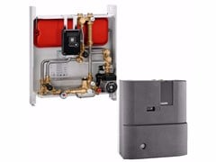 - Wall-mounted indirect heat interface unit SATK30105 - CALEFFI