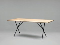 - Rectangular wooden table SC32 | Wooden table - Janua