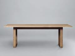 - Tavolo da pranzo rettangolare in legno SC25 | Tavolo in legno - Janua