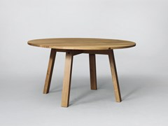 - Round wooden table SC50 | Wooden table - Janua