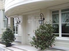 Porta d'ingresso termoisolante in legno per esternoSC80-100 | Porta d'ingresso in legno - CAPOFERRI SERRAMENTI
