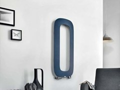 - Vertical wall-mounted aluminium radiator SCHEMA LOOP | Vertical radiator - RIDEA