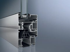 Finestra a taglio termico in alluminioSchüco AWS 65 - SCHÜCO INTERNATIONAL ITALIA