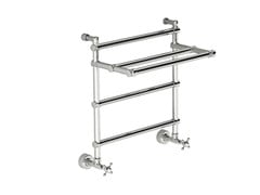 - Chrome vertical wall-mounted towel warmer SCME02C | Towel warmer - Fir Italia