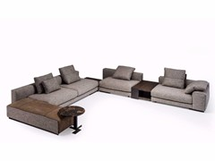 - Corner sectional fabric sofa ATLAS | Sectional sofa - Arketipo
