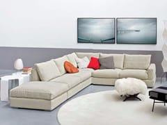 - Corner upholstered fabric sofa SENNA | Corner sofa - arflex