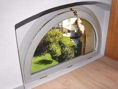 - Curved wooden bottom-hung window SETA | Bottom-hung window - NAVELLO