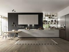 Cucina componibile in laminato con penisolaSETA | Cucina con penisola - GF FLORITELLI