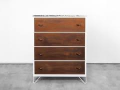 - Free standing Corten™ chest of drawers SETTIMA | Corten™ chest of drawers - Officine Tamborrino