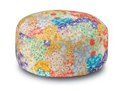 - Fabric pouf with removable lining SEYCHELLES | Pouf - MissoniHome