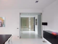 Porta rototraslante in vetroSGD BKO - ANYWAY DOORS
