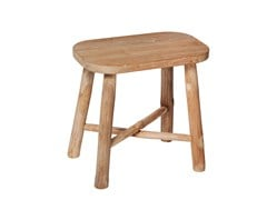 - Oval teak side table COTTAGE | Side table - 7OCEANS DESIGNS