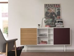 - Modular wooden sideboard CODE | Sideboard - Dall'Agnese