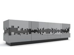 - Madia laccata in MDF con ante a battente PiXL - Max Kasymov Interior/Design
