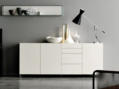 - Lacquered sideboard with drawers GRAPHOS | Sideboard with drawers - Silenia