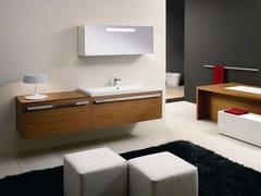 Mobile lavabo in legno con specchioSIGN | Mobile lavabo in legno - CARMENTA
