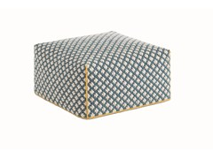 - Upholstered fabric pouf SILAÏ | Pouf - GAN By Gandia Blasco