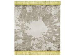 - Handmade rectangular rug SILENT DISTANCE - HENZEL STUDIO