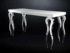 - Rectangular MDF high table SILHOUETTE | Rectangular table - VGnewtrend