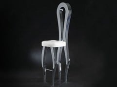 - Open back counter stool with footrest SILHOUETTE | Counter stool - VGnewtrend