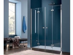 - Niche glass shower cabin with folding door SIM - 5 - INDA®