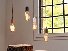 - LED pendant lamp SIMPLE COVER - Olev by CLM Illuminazione