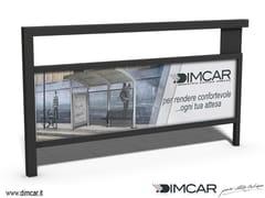 - Steel pedestrian barrier Transenna Simply pubblicitaria - DIMCAR