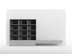 Libreria modulareLibrerie sovrapposte - CINQUANTA3