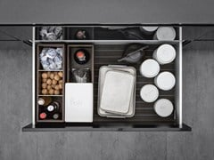 - Aluminium Kitchen accessory Sliding drawer system - SieMatic