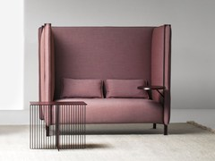 - High-back fabric sofa PINCH | High-back sofa - La Cividina