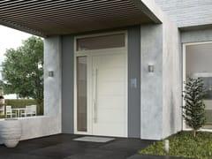 - Porta d'ingresso blindata con pannelli in vetro SMART L - Interno Doors