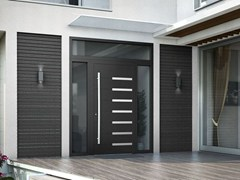 - Glazed wooden safety door SMART I - Interno Doors