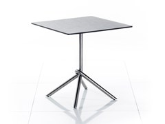 - Drop-leaf square HPL garden table SMART SERIES | Square table - solpuri