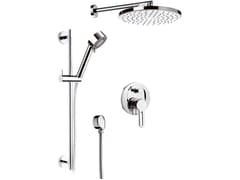 - Chromed brass shower wallbar with hand shower SMART | Shower wallbar with hand shower - Daniel Rubinetterie