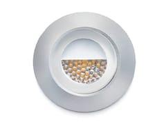 Segnapasso a LED a parete in alluminio anodizzatoSMILE - FRANCESCONI & C.