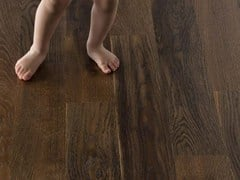 - English oak parquet SMILE QUERCIA THERMO - GAZZOTTI
