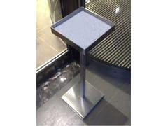 Posacenere per spazi pubblici da terra in acciaio inoxSMOKER - MARTIN DESIGN