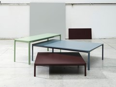 Tavolino in alluminioSNAP - WOW ITALY