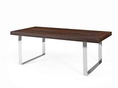 Tavolo da pranzo rettangolare in legnoSOBRE - CABUY D.