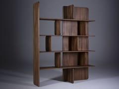 Libreria a giorno in legno masselloSOFT - ARTISAN