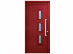- Exterior custom glazed PVC entry door SOFT POLA - FOSSATI PVC
