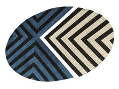 Tappeto in lana a motivi geometriciSOL Y SOMBRA - ROCHE BOBOIS